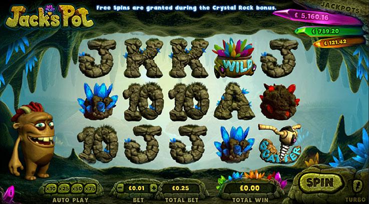 Tragaperras online Jacks Pot - como ganar al casino