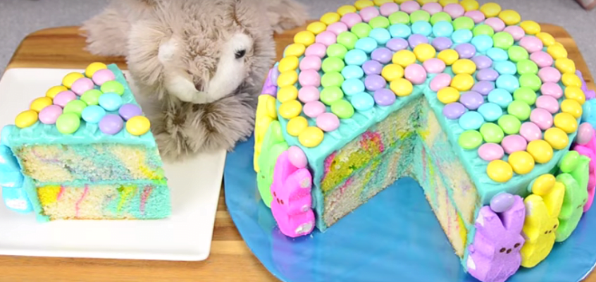 Marble Easter Cake