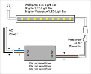 88Light  12V Driver wiring diagrams: 20W60W