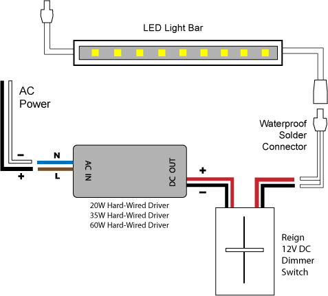 dimmable led wiring diagram  schematic wiring diagram