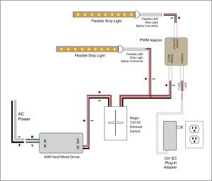 88Light  Reign 12V LED Dimmer Switch wiring diagrams