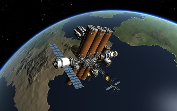 Space station and base building step-by-step tutorials ...