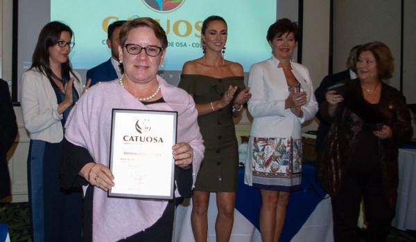 Catuosa otorga premio Corcovado a empresa Florex