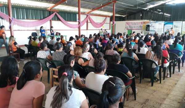 120 MUJERES RURALES APRENDIERON SOBRE SALUD MENTAL EN CONVIVIO DE LA RED CONTRA LA VIOLENCIA INTRAFAMILIAR