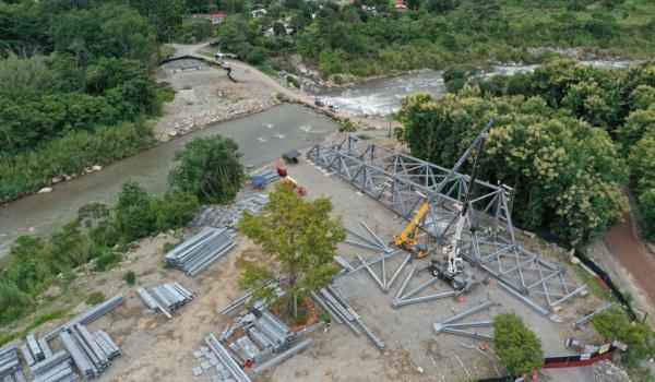 Nuevo puente en General Viejo estará listo en el primer bimestre del 2021