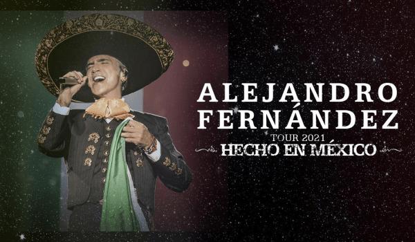 ALEJANDRO FERNÁNDEZ ANUNCIA FECHA ADICIONAL A SU GIRA «HECHO EN MÉXICO»