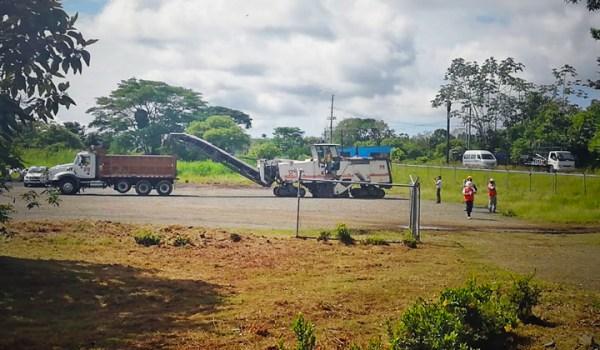 Con inversión de ₡1.674 millones arrancó construcción de pista de aterrizaje en Quepos