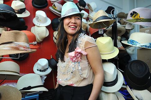 Hat designer Eugenia Kim