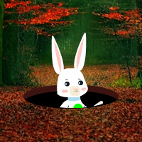 G2R Easter Bunny Autumn Forest Escape