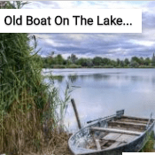Old Boat On The Lake Shore Jigsaw Puzzle Game