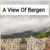 A View Of Bergen Jigsaw Puzzle Game