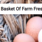 Basket Of Farm Fresh Eggs Jigsaw Puzzle Game