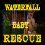 8b Waterfall Baby rescue