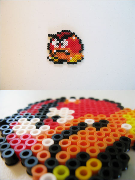 Fire Mario Art Super Flower