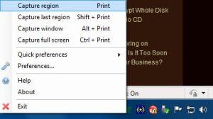 Print Screen / Screen Capture on Windows = Greenshot