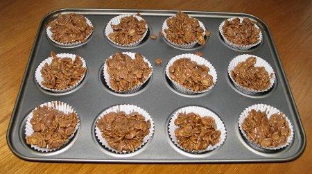 Chocolate Cornflake Cakes Tesco