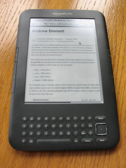 Kindle 3G