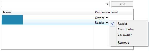 Microsoft Windows Vista - Select permission level for the user
