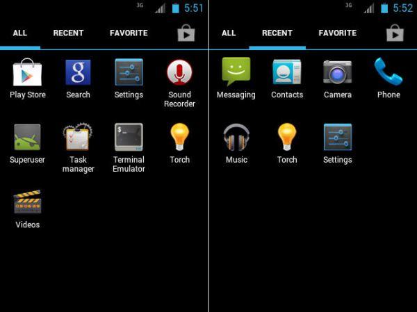 Samsung Galaxy ACE GT-S5830 JellyBread custom rom Screenshots 2