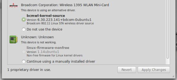 D630 Broadcom Linux Wireless Driver