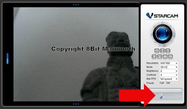 F6836W Webcam Setup