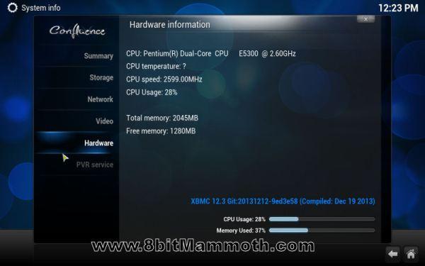 XBMC Hardware Spec