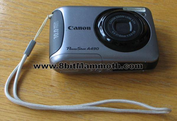 Canon PowerShot A490 Camera
