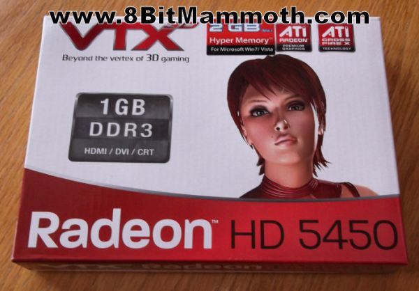 Radeon HD 5450 Graphics Card Box