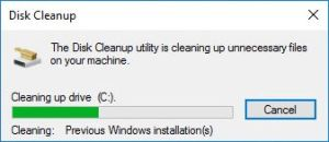 How To Remove The Microsoft Windows 7 Backup After Using The Free Windows 10 Upgrade
