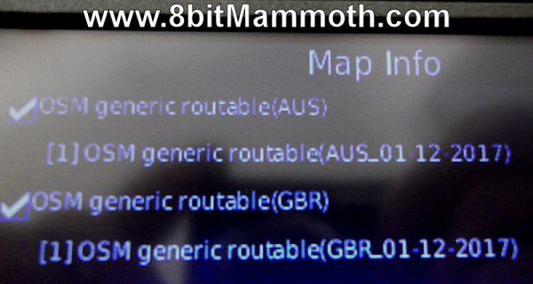 new free maps on sat nav device
