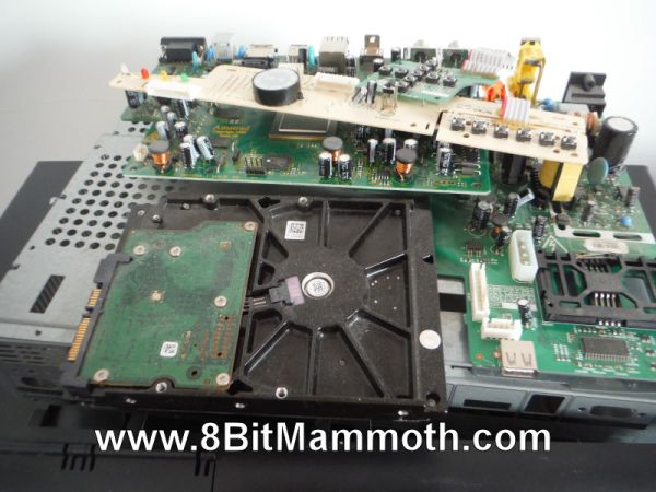 satellite box parts and hard drive