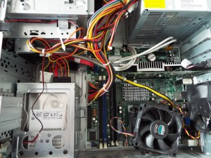Putting a HP Compaq dx7500 Motherboard into a dx2420 Microtower Case