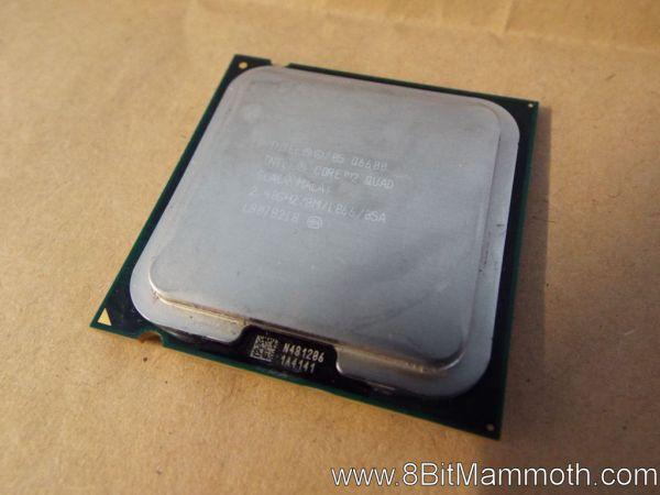 Intel Q6600 Core 2 Quad CPU