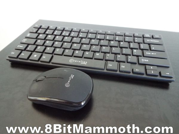 Cerulian Technology 2.4Ghz Wireless Keyboard and Mouse