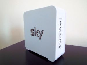 Using a Sky SR101 White Sky Hub Router as a Network Switch