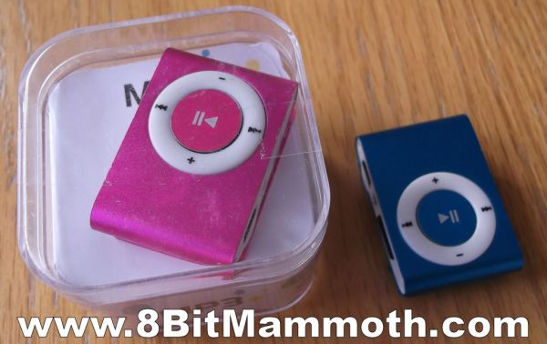 Two MP3 Players