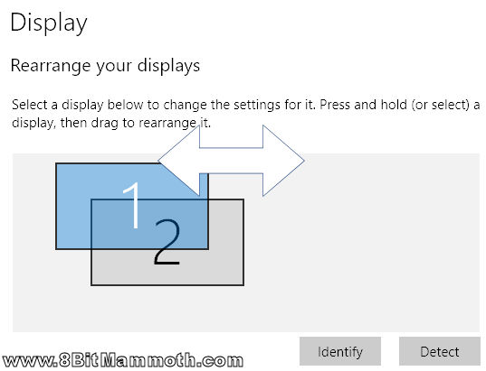 Windows 10 Switch Monitor Positions