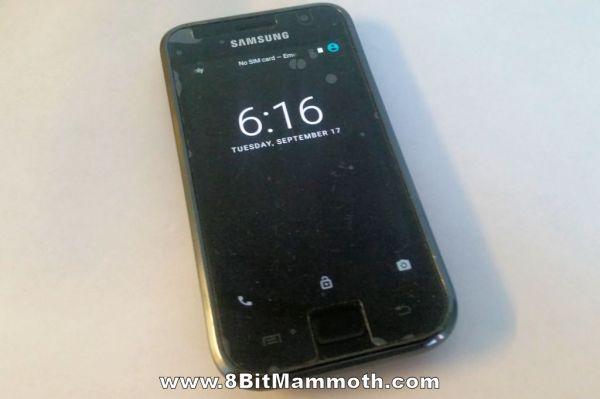 Samsung I9000 Galaxy S mobile phone