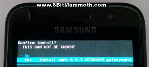 install omni rom
