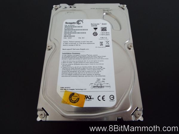Seagate W1V163GT ST1000DL002
