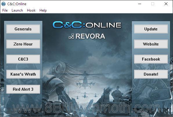 C&C:Online Launcher application