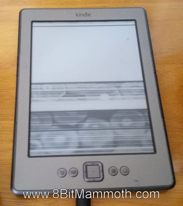 Kindle E-Ink Screen Not Working Properly