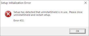 Setup Initialization Error 432 (Solved) – Windows 10
