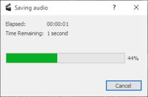 How To Save Audio from a Video File