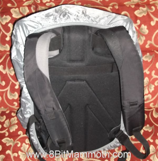 Another photo showing the rear of a backpack