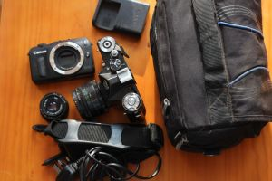 Recent Camera and Lens Purchases (Canon EOS M, Helios, Industar & Zenit)