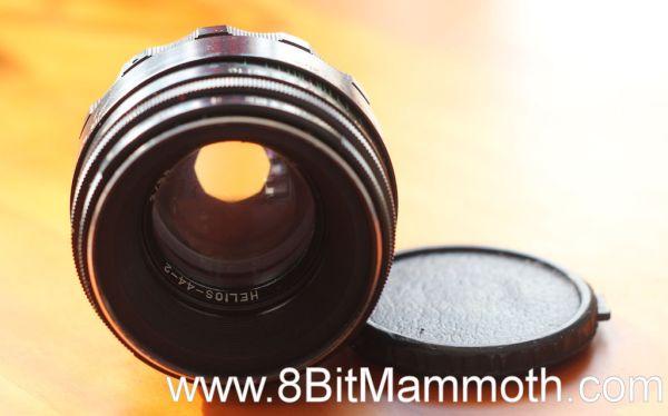 A photo of a Helios 44-2 lens