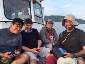 Stage 5 - Kayak crew