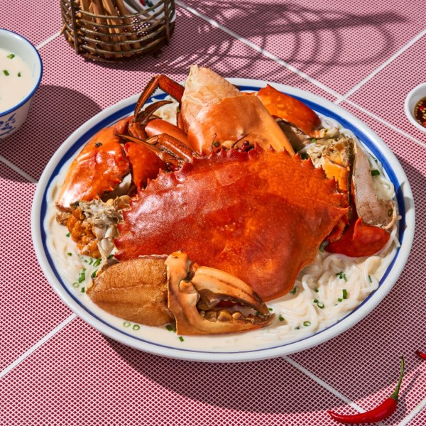 Signature Crab Bee Hoon Soup by 8 crabs