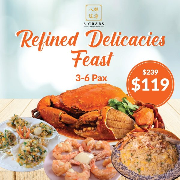 Refined Delicacies Feast by 8crabs